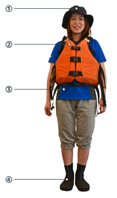 sea kayaking outfit