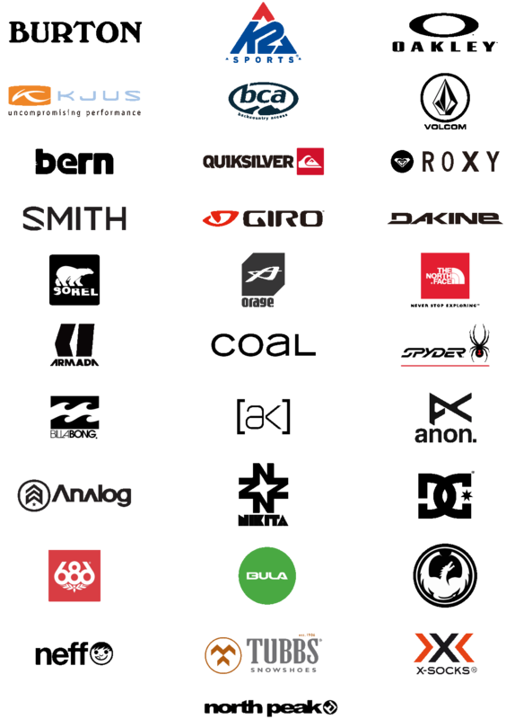 Niseko Sports Retail Logos