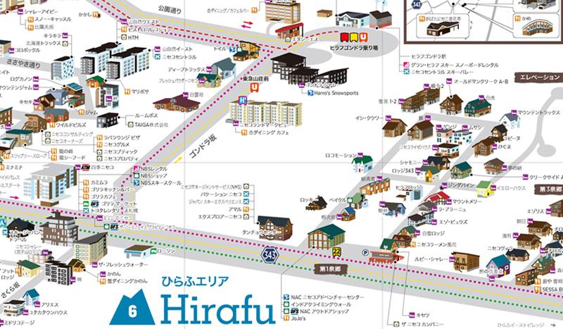 Niseko Resort Map Preview 2017